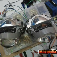 Projector LED OEM Fortuner VRZ Bi Beam