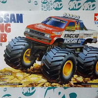 Mini 4WD - Tamiya - Nissan King Cab Big Foot