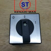 Selector Switch / ON OFF / 2 posisi 1 Pole K&N 20 A Kraus & Naimer KN