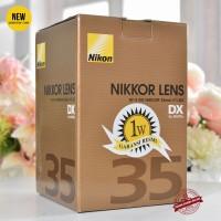 [New] Nikon AF-S DX Nikkor 35mm f/1.8G @Gudang Kamera Malang