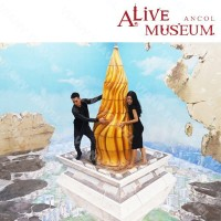Paket A : TIKET ALIVE MUSEUM / ALIVE STAR ANCOL (Weekdays)