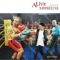 Paket D : Combo Alive Museum & Alive Star Ancol (Weekends / Holidays)