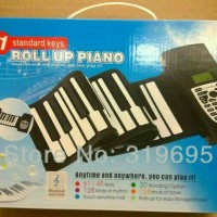 Portable Flexible Electronic Roll Up Piano Soft Keys