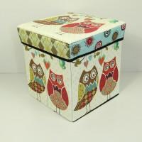 #069 New storage Box Kotak serbaguna skaligus bangku bahan tebal