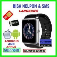 Jam Tangan Pria Pintar Android Iphone Smart watch Gadget Smartwatch