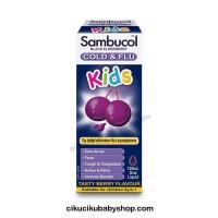Sambucol Kids Cold & Flu 120ml / Obat Flu & Batuk Anak