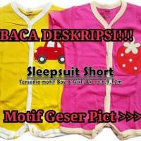 Short Sleepsuit Romper Jumpsuit Pendek Carter Carters Baby Grow 3in1