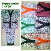Piyama Batik Anak L (3 - 4 Th)**