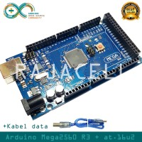 New Arduino Mega 2560 Mega2560 R3 16u2 + Kabel Data Atmega2560