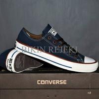 Sepatu Converse Pria Warna Biru Navy Premium Classic Import/Trendi