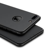 Jual Softcase Ultra Thin Silicone Slim Black Edition Iphone 6 6Plus 7 7Plus Murah