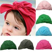 Jual topi turban bayi dan anak model ikat kelinci Murah