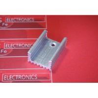 Heatsink TO-220 Silver 20mmx15mmx10mm