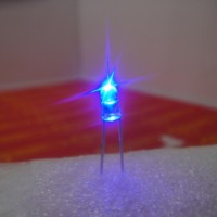 3mm Superbright Water Clear Blue LED