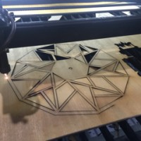 jasa laser cutting termurah se-Surabaya 2500/menit
