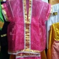 Jual pakaian daerah baju adat sulawesi selatan makasar bodo anak karnaval Murah