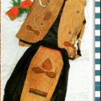 pakaian baju adat kalimantan barat baju dayak