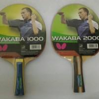 Original Bat Tenis Meja Ping Pong Butterfly Wakaba 1000 / 2000