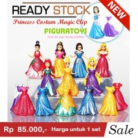 Figure magic clip Dress 7 princess