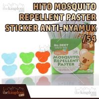 Hito Sticker Anti Nyamuk /54 Stiker Tempelan Bayi Anak Dewasa