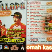 Kaset VCD original NEW PALLAPA TA 4 volume A