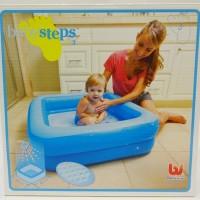 Harga Terbaik kolam renang bayi bestway/inflatable baby pool/tempat ma