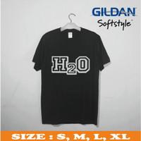 kaos band gildan/kaos distro/logo band/kaos band H2O