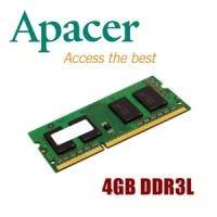 Apacer 4GB DDR3L-1600 CL11 204-Pin SODIMM (PC3L-12800)