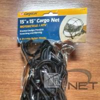 CargoLoc Cargo Net Tali jaring jala helm motor / ATV teknologi Jerman
