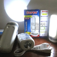 Senter LED Emergency Surya SYT L101 (1w + 10 SMD)