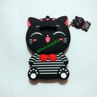 Samsung Galaxy v / ace 4 / G313 3D Bowknot kucing Silicone Case