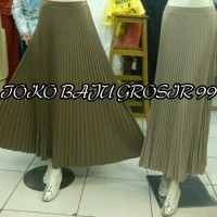 Rok Prisket / Plisket Comfort Panjang Fashion Wanita