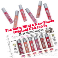 The Balm NEW SHADE Meet Matte Hughes Mini Kit VERSION 2 - ORI USA 100%