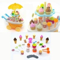 Jual ICE CREAM CART PLAYSET , SWEET SHOP LUXURY CANDY CART , MAINAN ANAK Murah
