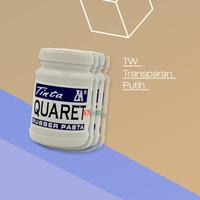 Cat Sablon Quaret Warna TW, Transparat & Putih - 1/4 Kg