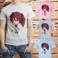 kaos baju t shirt distro anime kartun manga Samurai X 05
