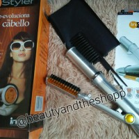 Jual catokan instyler 2IN1, ORI catok rambut pelurus dan pengeriting Murah