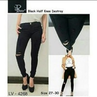 Jual Jeans cewek / ripped jeans / skinny jeans wanita / high waist jeans Murah