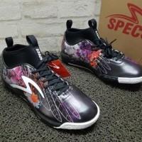 [Orgnl] Sepatu Futsal Specs Accelerator Kokokbeluk Black/Hitam Grafiti
