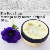 PROMO - Body Shop Moringa Body Butter 50 ml Baru | Produk Perawatan
