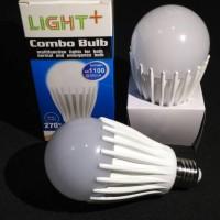 Lampu LED Emergency Combo Bulb Light + 12 Watt