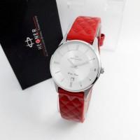 Jam Tangan Hegner 415 Red Silver Original