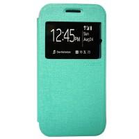 Zagbox Flip Cover Samsung Galaxy Z3 - Hijau Tosca