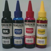 Tinta isi ulang ( Refill ) untuk Printer Brother isi 100ml