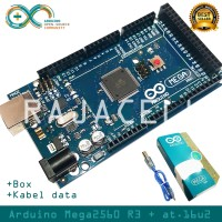 Arduino Mega2560 R3 Mega 2560 + Box like ORIGINAL + Kabel data Atmega