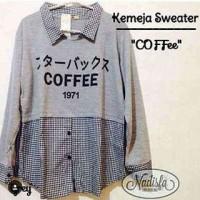 Atasan Wanita Coffe sweter