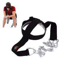 Head Harness Belt Neck Traps Weight Lifting Chain Strap Fitness Gym