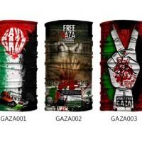 Jual Baff Bandana Free Gaza Palestine Muslim Islam Masker Bafin Multifungsi Murah