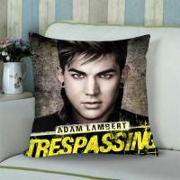 Adam Lambert #4 Sarung Bantal Sofa 18 inch gambar 2 sisi