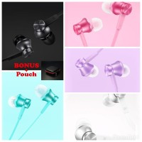 harga Xiaomi Mi Piston Huosai 2 Earphone (original)/colorful Edition/ +bonus Tokopedia.com